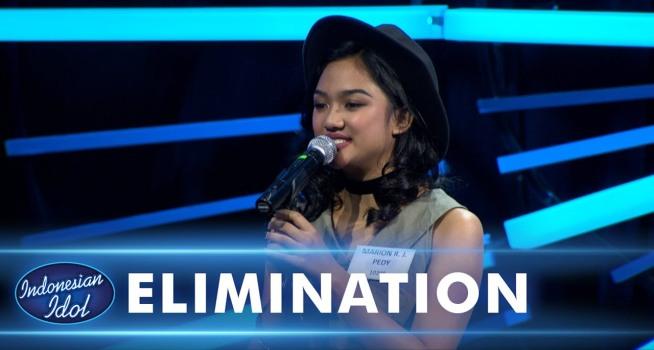"Marion Jola menampilan ""Havana"" pada babak eliminasi ke-3 Indonesian Idol (Dok. Indonesian Idol)."